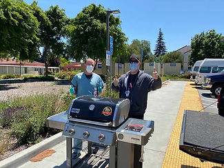 Joe Angeleini delivered BBQ to VAMP.jpg