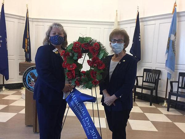 Judi & Brenda at Memorial Day Ceremony GGNC.jpg