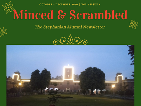 Minced & Scrambled - Vol 1 Issue 4