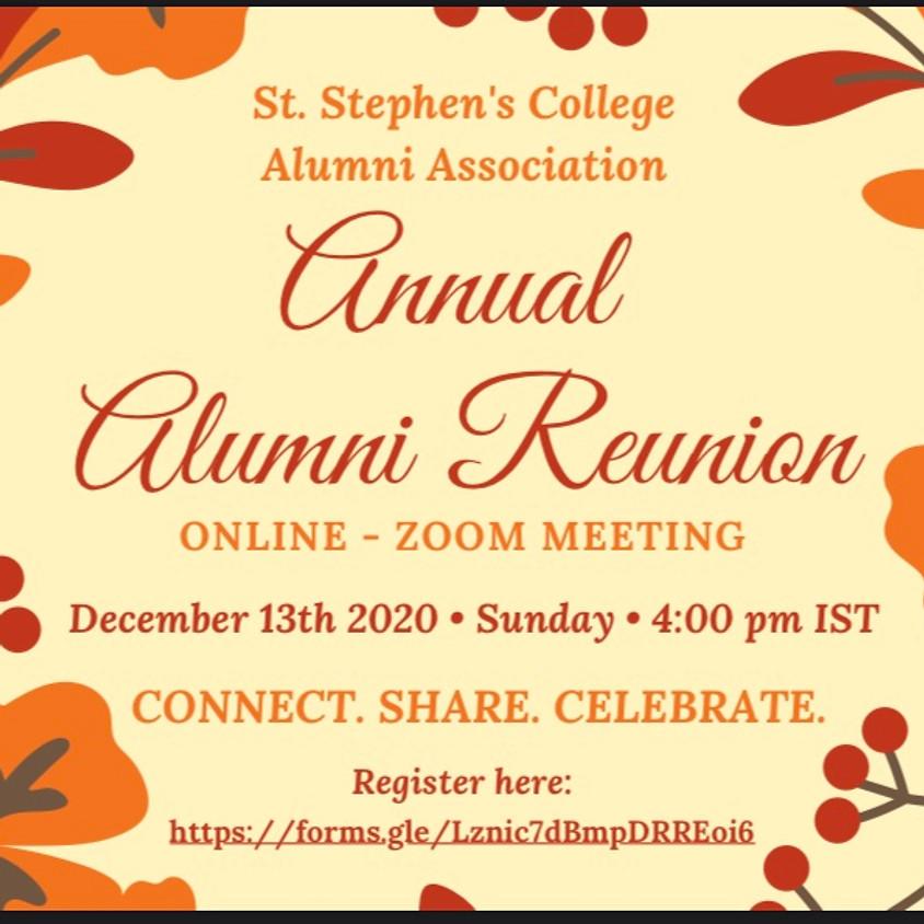 Annual Alumni Reunion