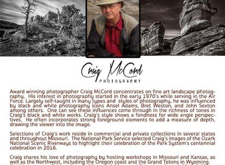 Craig McCord Art Exhibit
