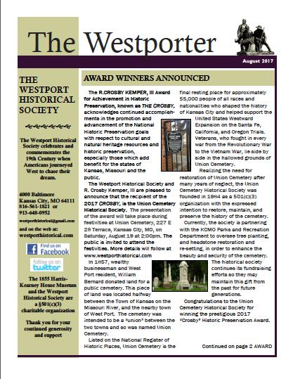 Westporter Aug 2017
