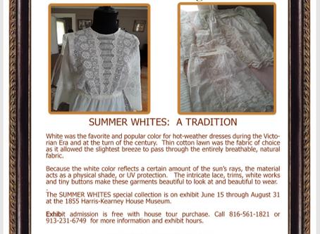 Summer Whites Exhibit