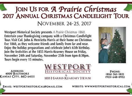 2017 Christmas Candlelight Tour: A Prairie Christmas