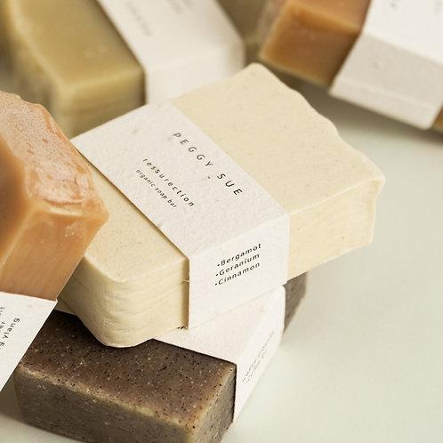 PEGGY SUE ORGANIC SOAP BARS