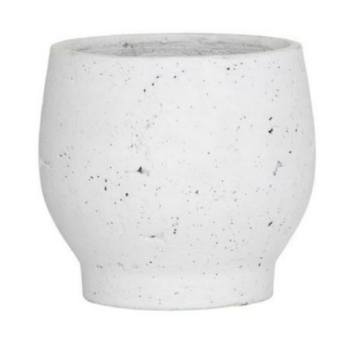 Rogue Brice Pot - 17x17x16cm White