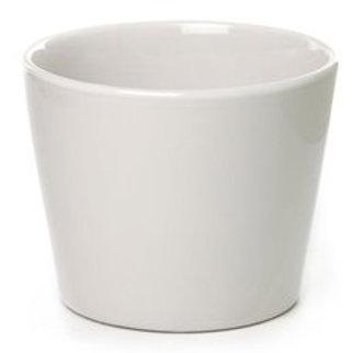 Ceramic Bondi Conical Tapered White - 15Dx12cmH