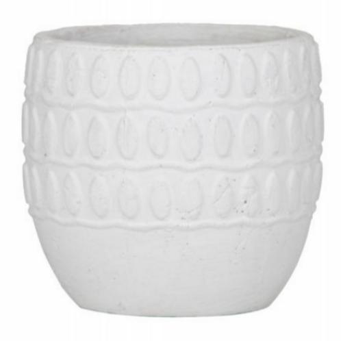 Rogue Amaya Pot - 17x17x15cm White