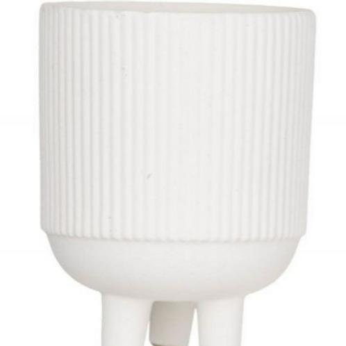 Rogue Aidan Pot - 12x12x15cm White