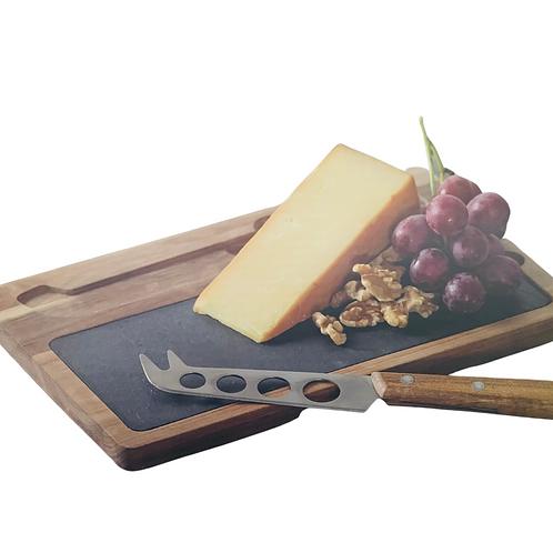 Maverick - Flinders Acacia Wood Cheese Set - 3pc
