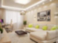 Цементная стяжка в двухкомнатной квартире Екатеринбург