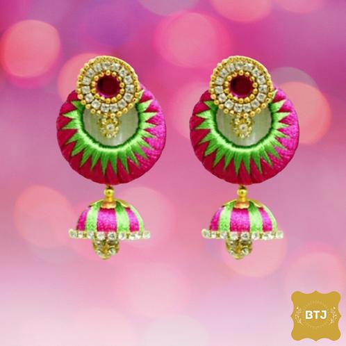 Chandbali Jhumka Earrings (E17)