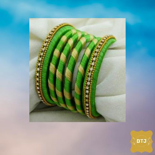 Light Green Bangles  (B23)