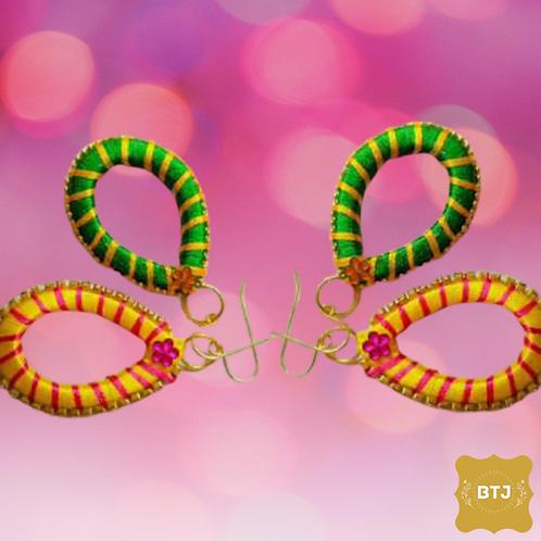 Oval Strip Earrings (E20)