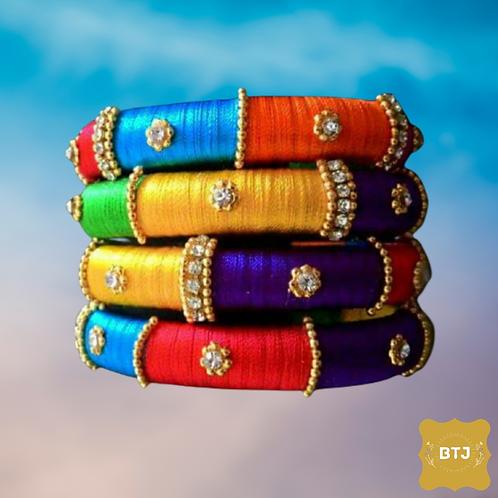 Multicolor Kada Bangles (B25)