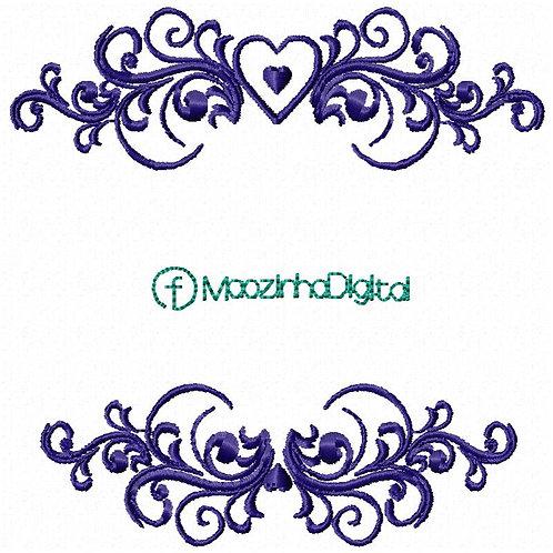 Moldura Corações BS2005