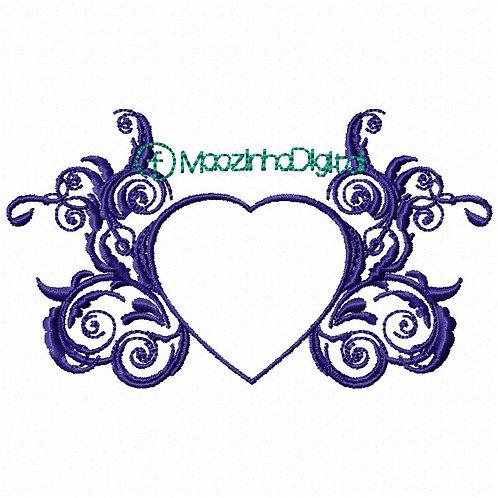 Moldura Corações BS2002