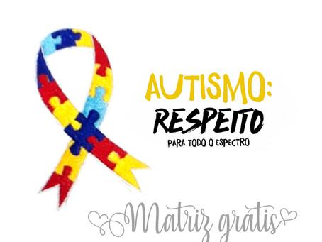 Dia Mundial de Conscientização do Autismo - Matriz Grátis