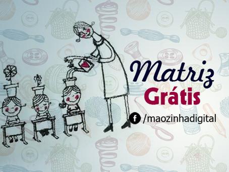Dia dos Professores - Matriz grátis