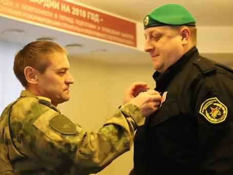 Вручение медалей ветеранам подразделений специального назначения