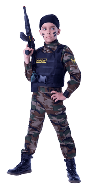 юный спецназовец