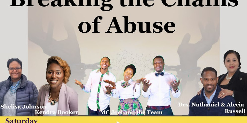 Breaking the Chains of Abuse Conference featuring musical artist MC Joel and the Team!