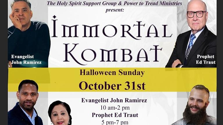 Special Halloween Immortal Kombat Service