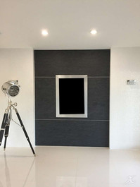 Custom made wall panel for TV or Photos