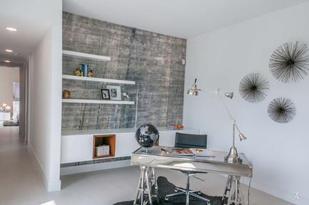 Blue&Grey tones wall