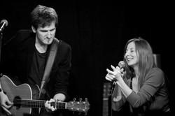 Au Limonaire avec Frédéric Bobin en 2014. Photo de ...