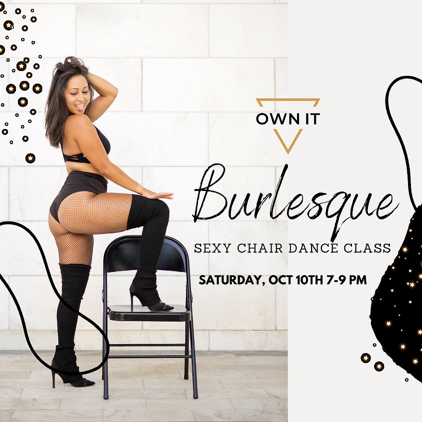 Burlesque Sexy Chair Dance Class 10/10