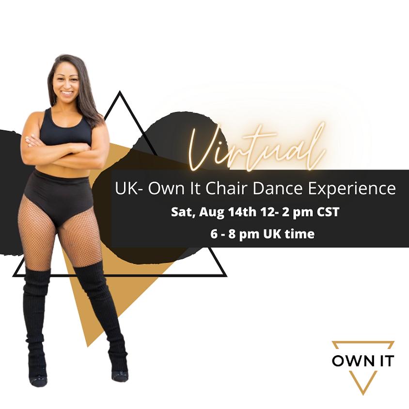 VIRTUAL Chair Dance Experience 8/14