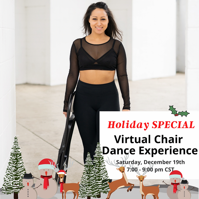 Special Holiday VIRTUAL Chair Dance Experience 12/19