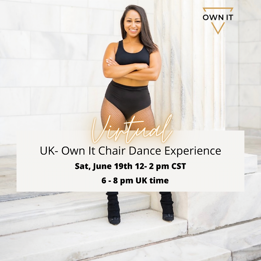 VIRTUAL Chair Dance Experience 6-19