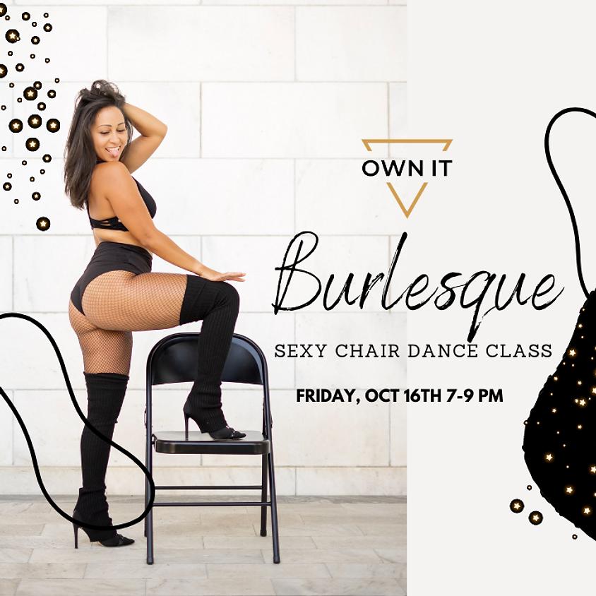 Burlesque Sexy Chair Dance Class 10/16