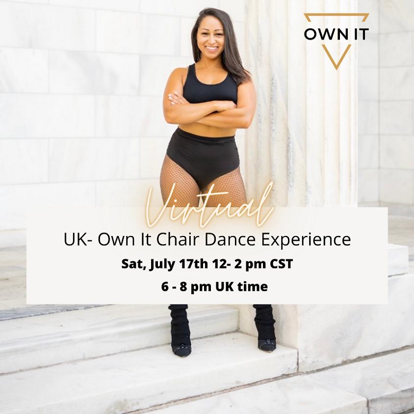 VIRTUAL Chair Dance Experience 7/17