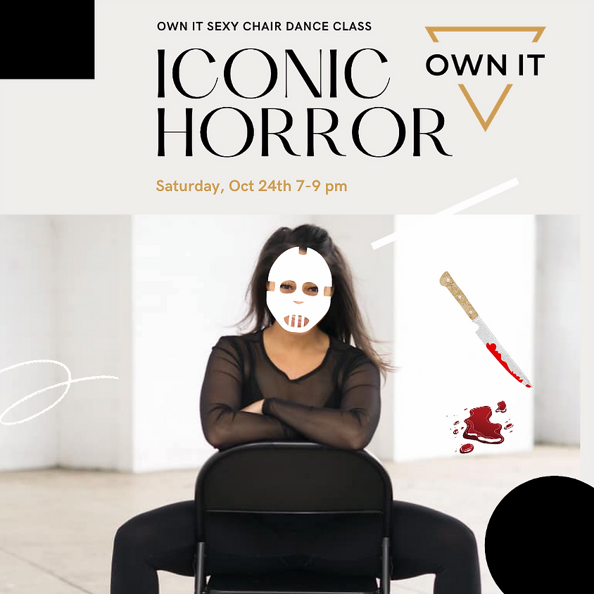 'Iconic Horror' Sexy Chair Dance Class 10/24