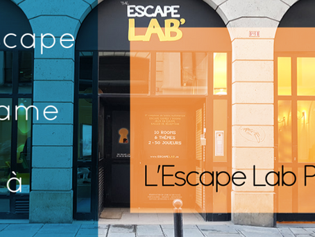 Activité à l'Escape Lab Paris