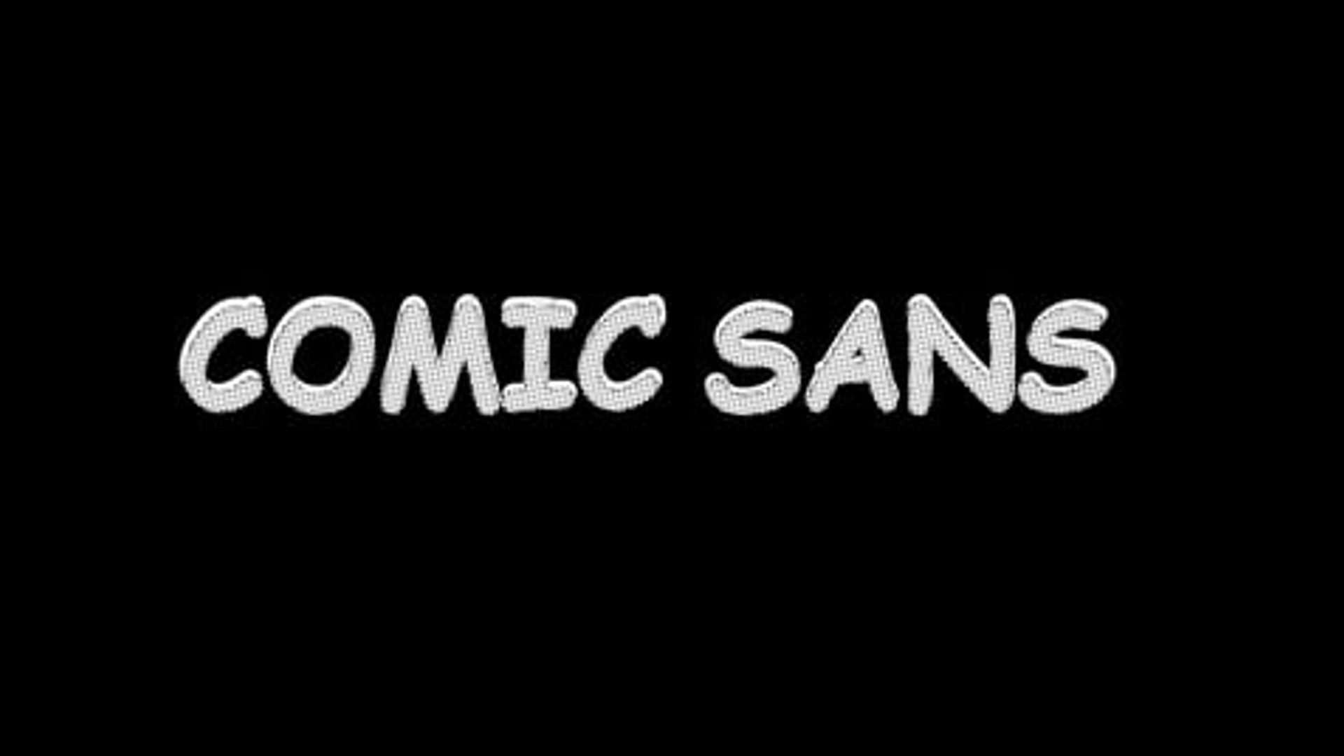 Comic Sans (2017)