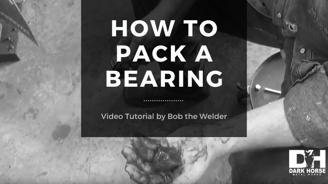 How to Pack a Trailer Bearing