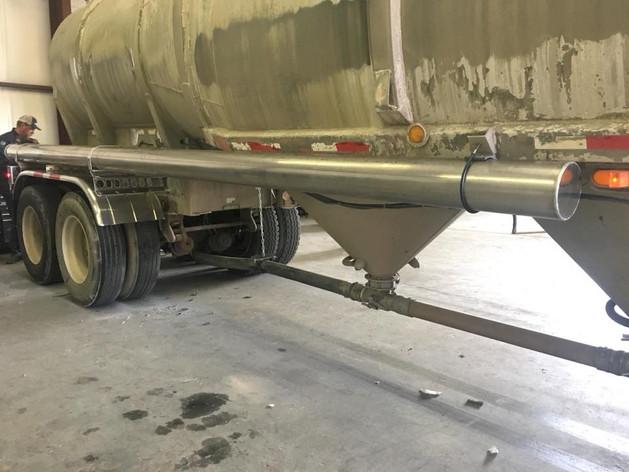 Aluminum fabrication | industrial concrete truck