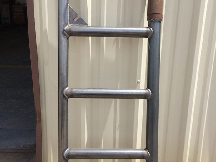 Metal gate for any farm or ranch fencing.