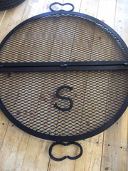 Monogramed Grill Grate
