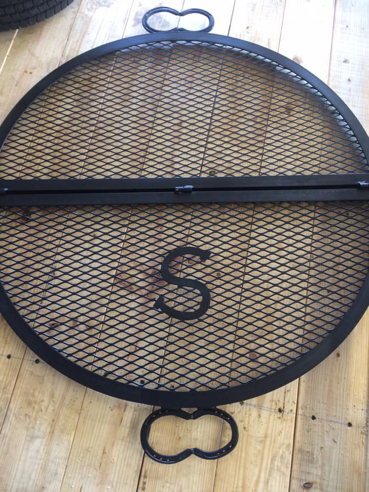 Grill grate monogramed
