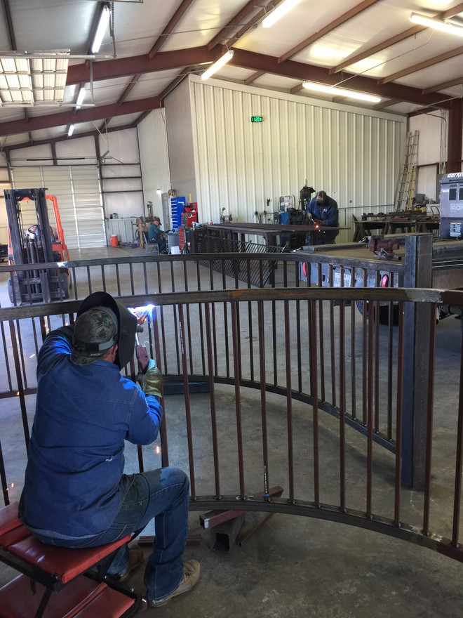 Building a Gate to Withstand The Elements in Granbury, TX