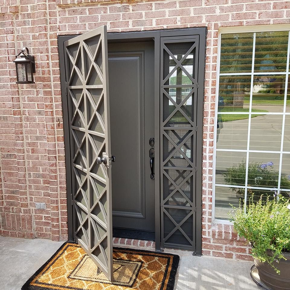 custom door way - wrought iron art & design