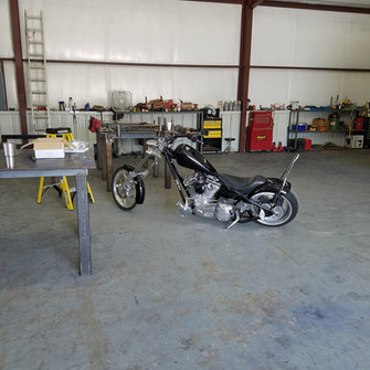 Custom built motorcycle additions