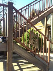 Custom Designed Staircase Railings