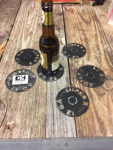 Shotgun Shell Replica Coasters
