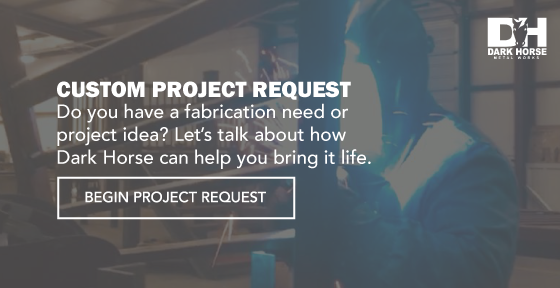 Custom welding project request call to action